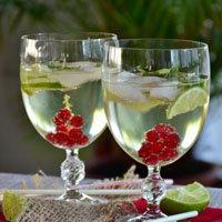 Новогодний стол. Напитки
