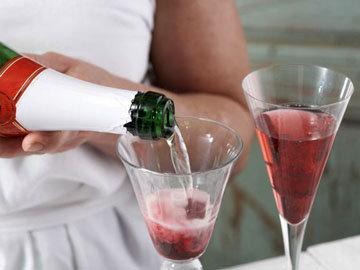 Коктейль с шампанским 6