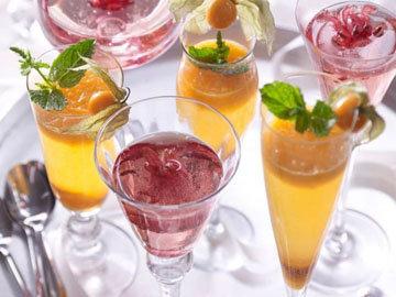 Коктейль с шампанским