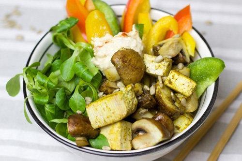 Рецепты здорового питания. Чаша Будды на обед и ужин