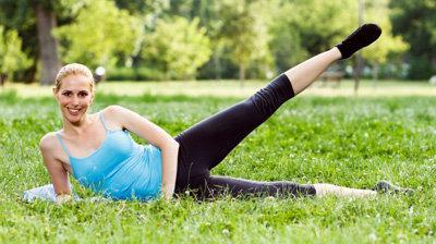 Упражнение против целлюлита 2