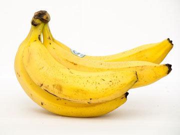 Банановое с орехами