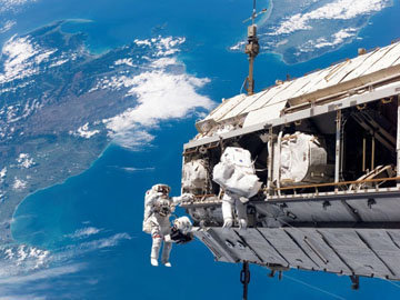 Питание на борту космического корабля