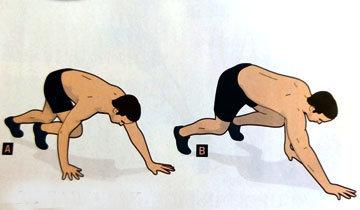 Упражнение Медвежонок
