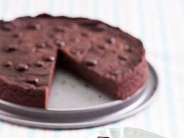 шоколадный торт - малокалорийный