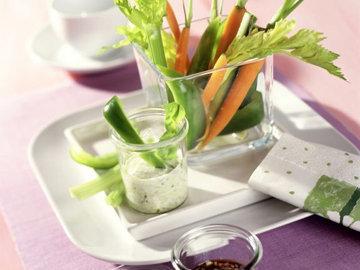 Овощи с соусом