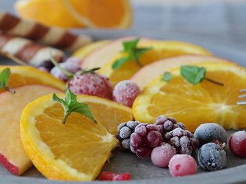 апельсины, грейпфруты в фруктовом салате