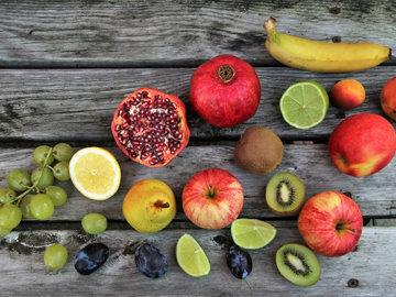 пять порций фруктов и овощей в день