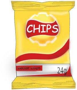 пакет с чипсами