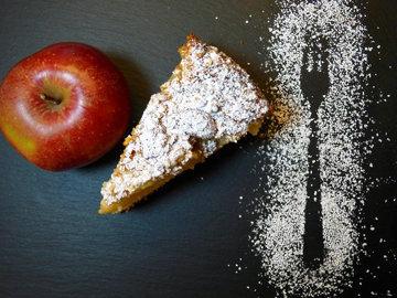 Приготовьте яблочный пирог - быстро и просто