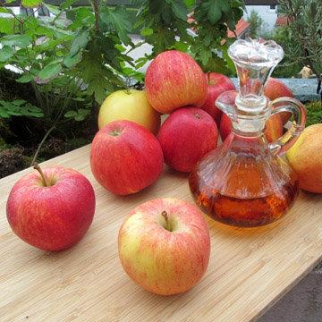 Яблочный уксус против апельсиновой корки