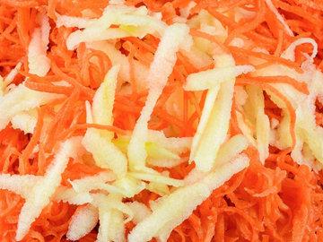 Яблоко + морковь