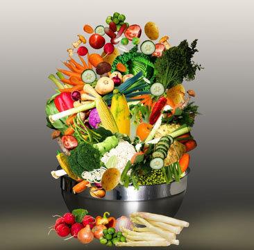 суп из свежих овощей