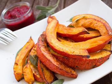 Морковь можно заменить тыквой запеченной