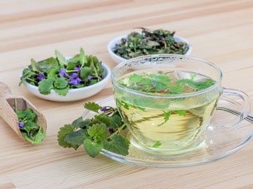 Травяной чай с 1 ч.л. меда