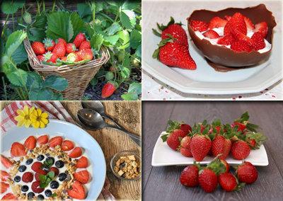 Начните с клубничной диеты