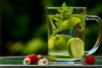 Энергетический сок с цитрусовыми