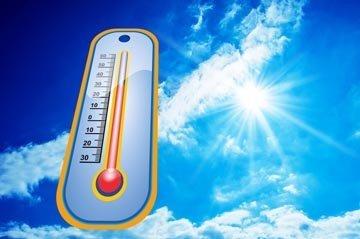 сильная жара - что есть и пить