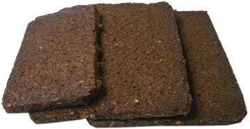 1. Хлеб из грубой ржаной муки