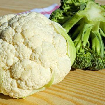Салат Цветная капуста + брокколи