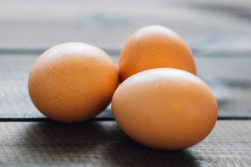 Среднее яйцо