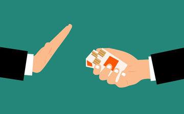 прекращать курение на следующий день