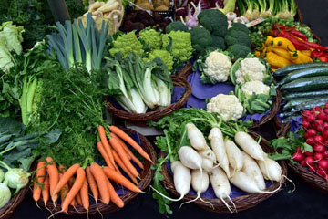 15 самых чистых фруктов и овощей