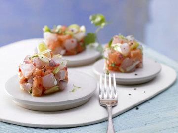Салат на Новый год с рыбой