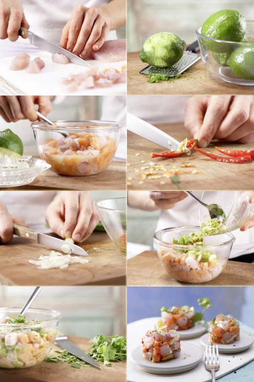Салат с рыбой
