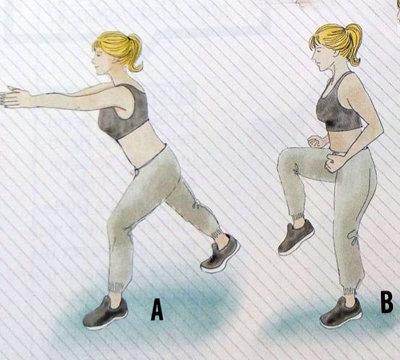 Упражнения для сжигания 1000 калорий 1