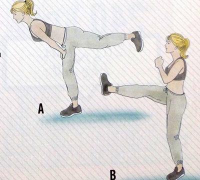 Упражнения для сжигания 1000 калорий 4