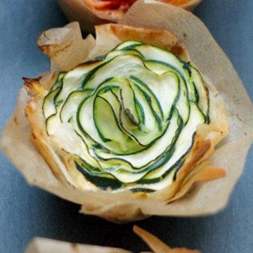 Зимние розы из овощей 1