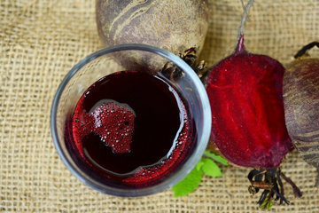 Свекольный сок - это минеральная и витаминная бомба