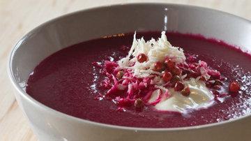 Вкусный суп из свеклы