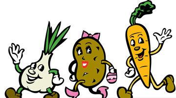 Овощи и фрукты - 5 в день