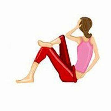 Упражнение 3 Косые Ситап Sit-ups 2