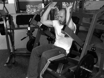 Упражнение № 3 брюшной пресс